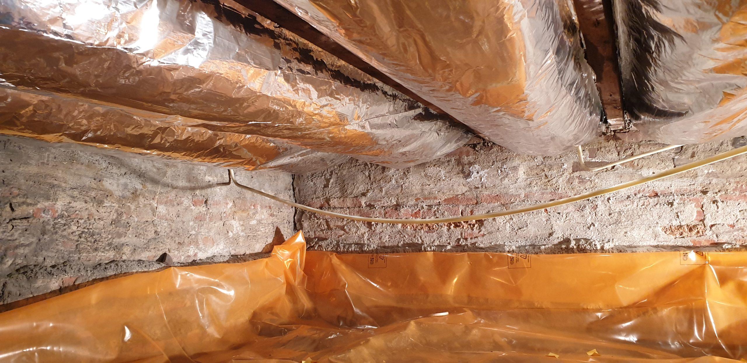 Vloerisolatie en bodemisolatie materialen