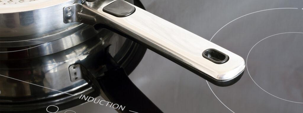 Afbeelding van inductiekookplaat met steelpan